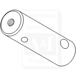 Pin, HD Square Axle Rear Pivot