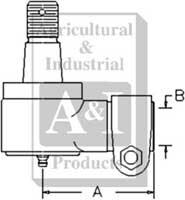 Power Steering Cylinder End
