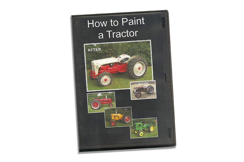 How to Paint a Tractor DVD