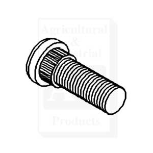 Stud Bolt, 5/8 X 2 (10/ Pack)