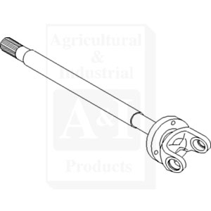 Shaft, Axle (LH)