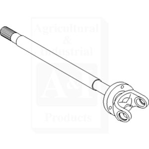 Shaft, Axle (RH)
