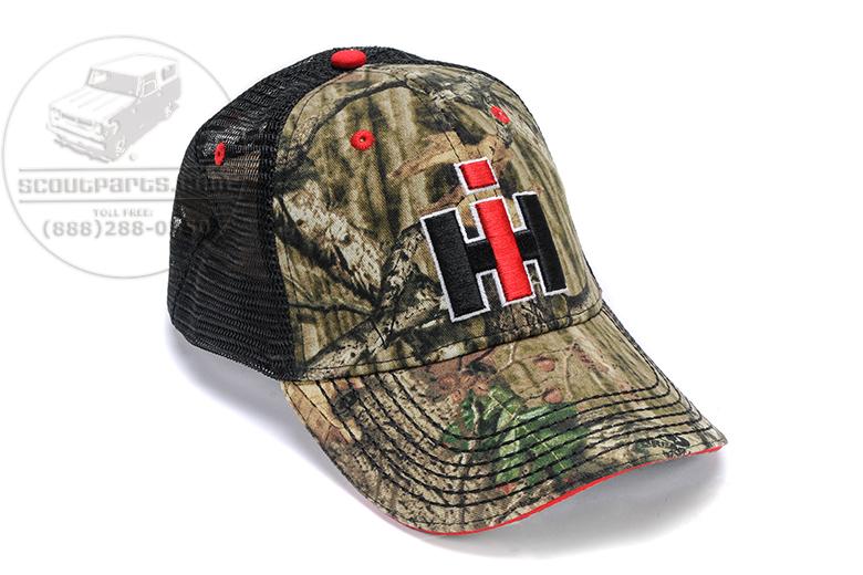 Camo IH Trucker Hat with IH Logo