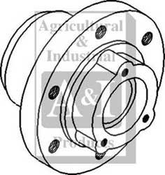 Hub, Front Wheel (6 Lug)