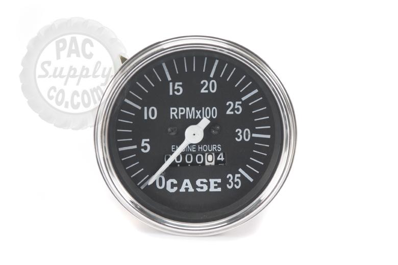 Tachometer gauge  0-35 - Fits Case Tractors  430, 470, 530, 570, 730 ,770, 830 ,870, 930,970, 1030,1070,1090, 1170,1175, 1200,1270, 1370, 1470, 1570, 2470, 2670