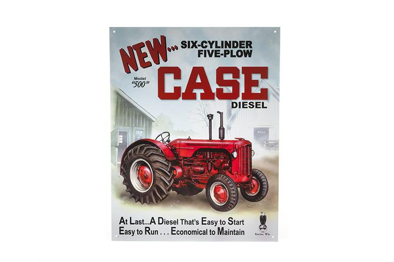 Case 500 Diesel Sign