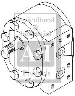 Hyd. Pump, 12 GPM MCV