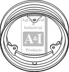 Rim, Front Wheel (Adjustable)