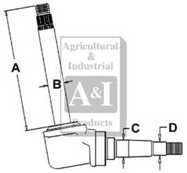 Steering Spindle (RH/LH)