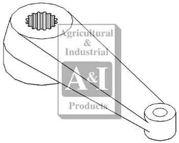 Steering Arm w/ 17 Internal Splines (RH)