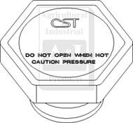 Radiator Cap (15 lb.)