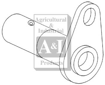 Pivot Pin, Rear Support