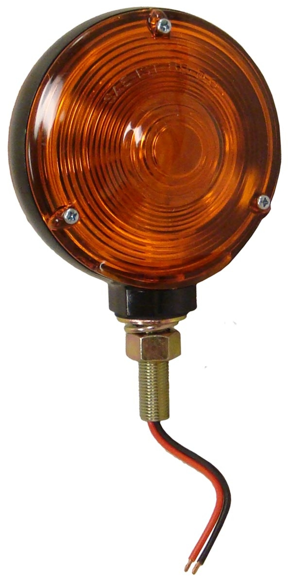 ROUND FENDER & CAB MOUNT WARNING & LIGHT