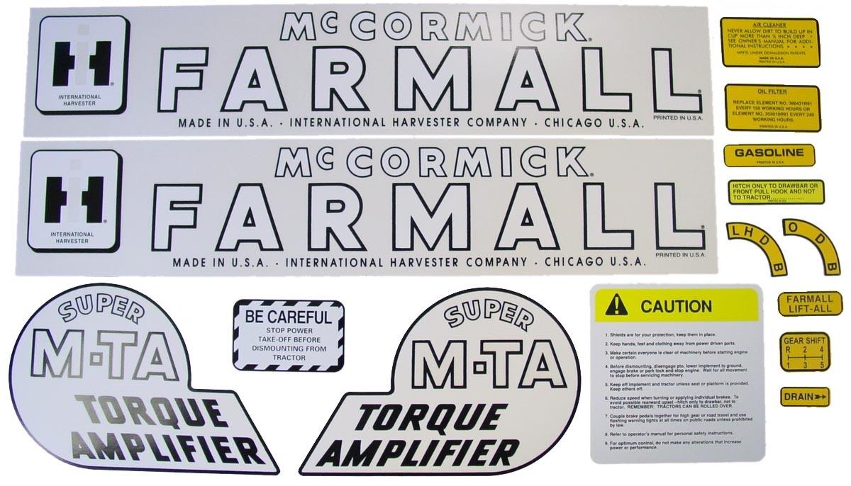 Farmall Torque Amplifier Repair Pictures
