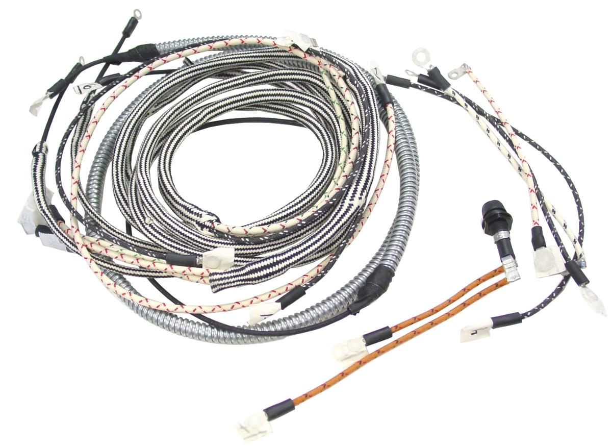 Tractor Wiring Harness Change Your Idea With Diagram Design International Case Ih Parts Alden Ny