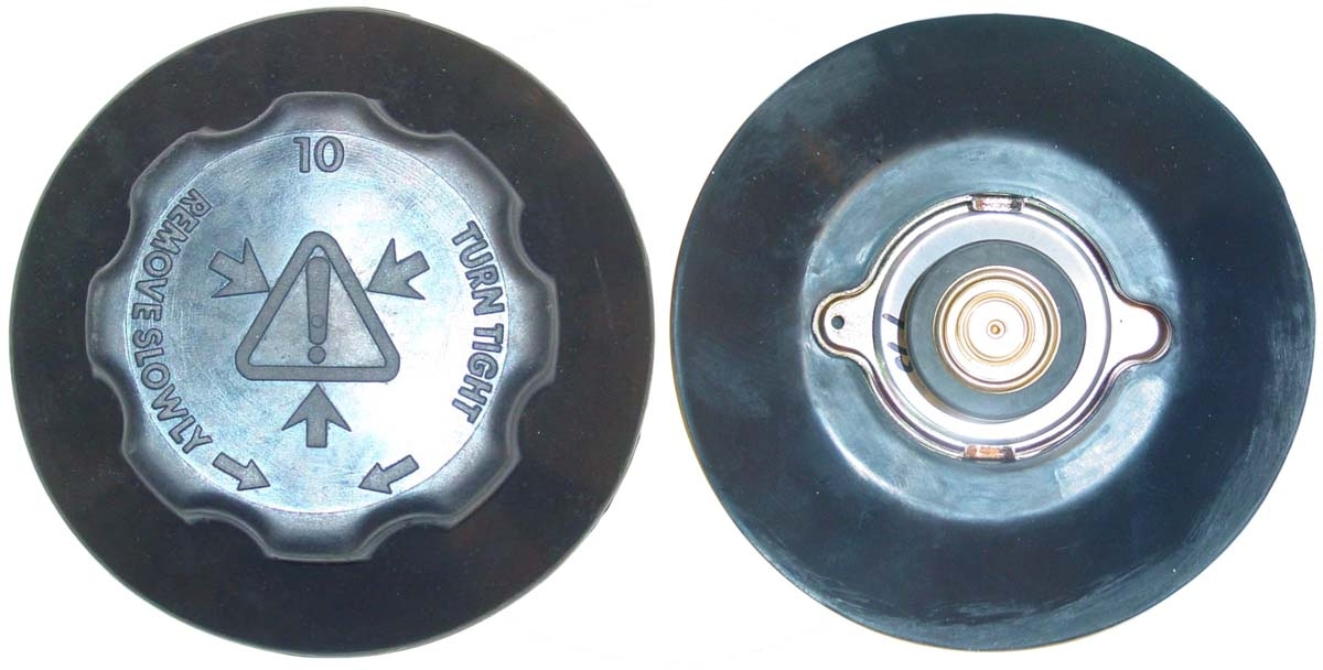 RADIATOR CAP & COVER