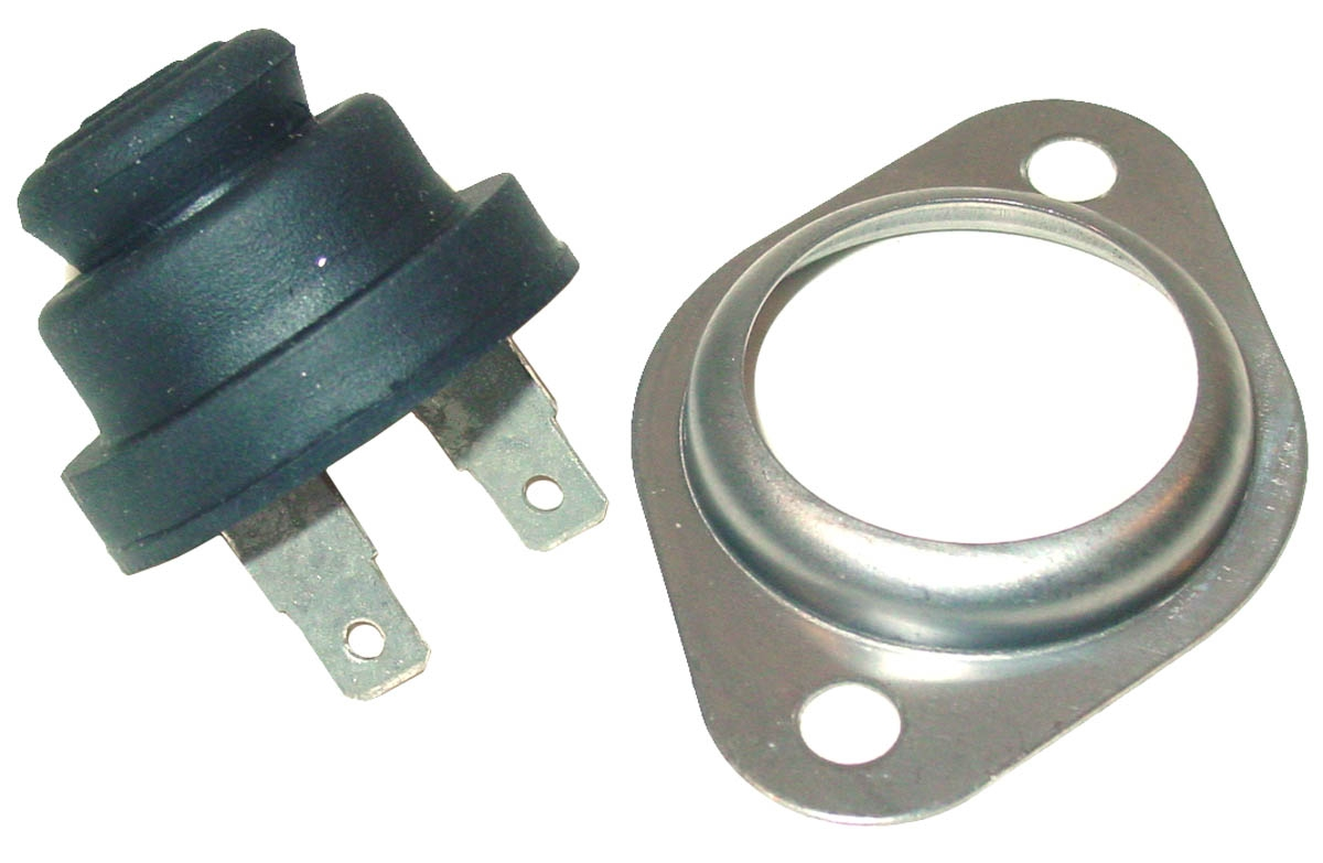 PUSH BUTTON SWITCH ASSEMBLY FOR STARTING, ETHER, ETC
