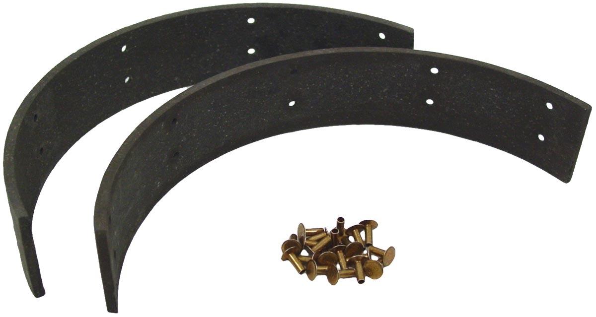 Brake Shoe Riveting Tool : Brake shoe lining set with rivets case ih parts
