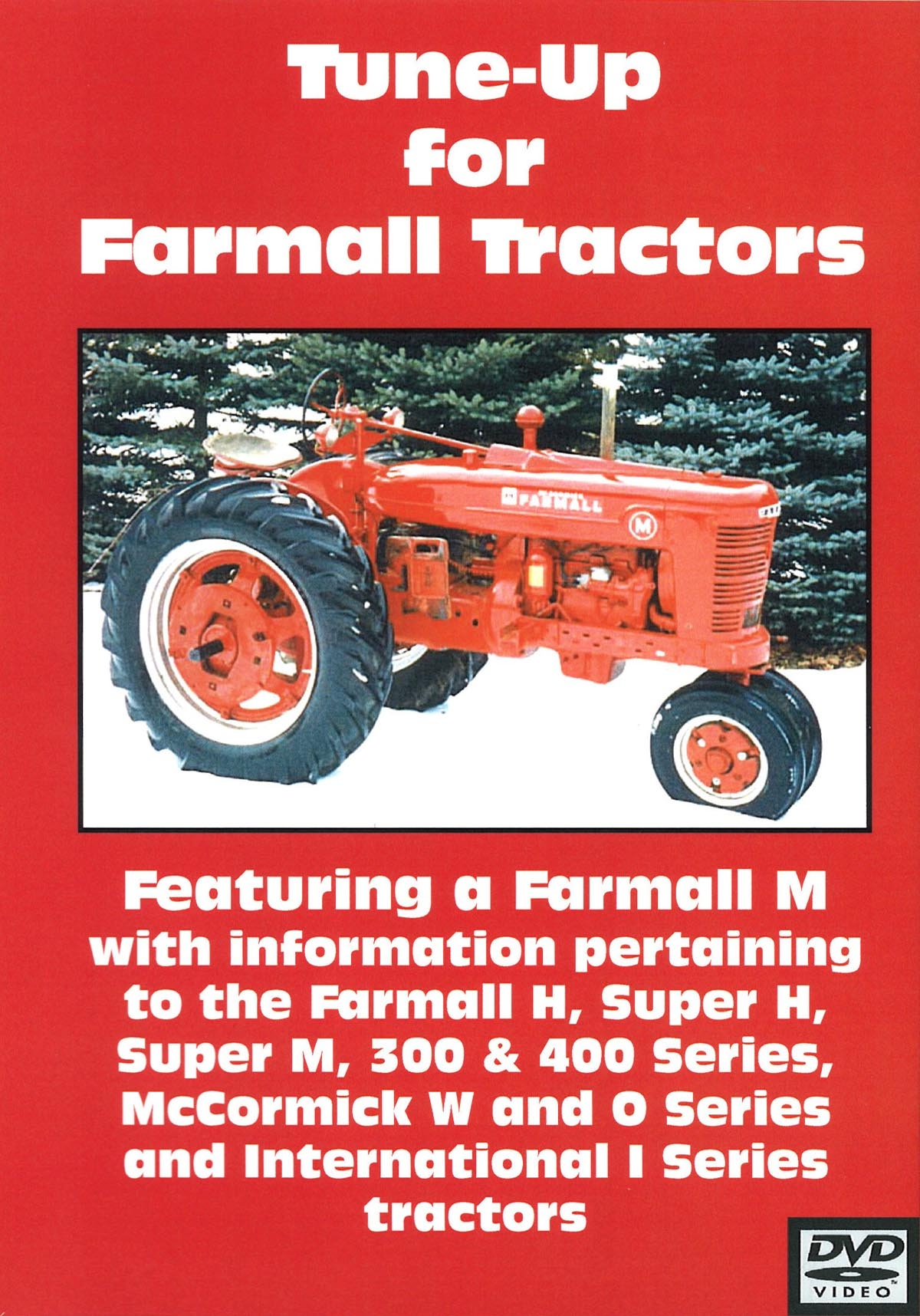 FARMALL H, M, 300, 400 TUNE UP VIDEO (DVD)