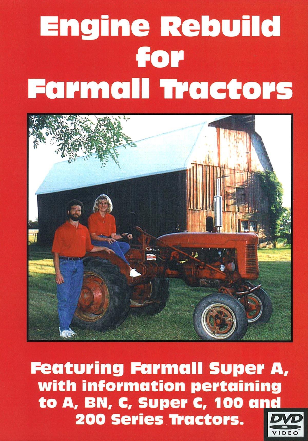 FARMALL ENGINE REBUILD VIDEO (DVD)