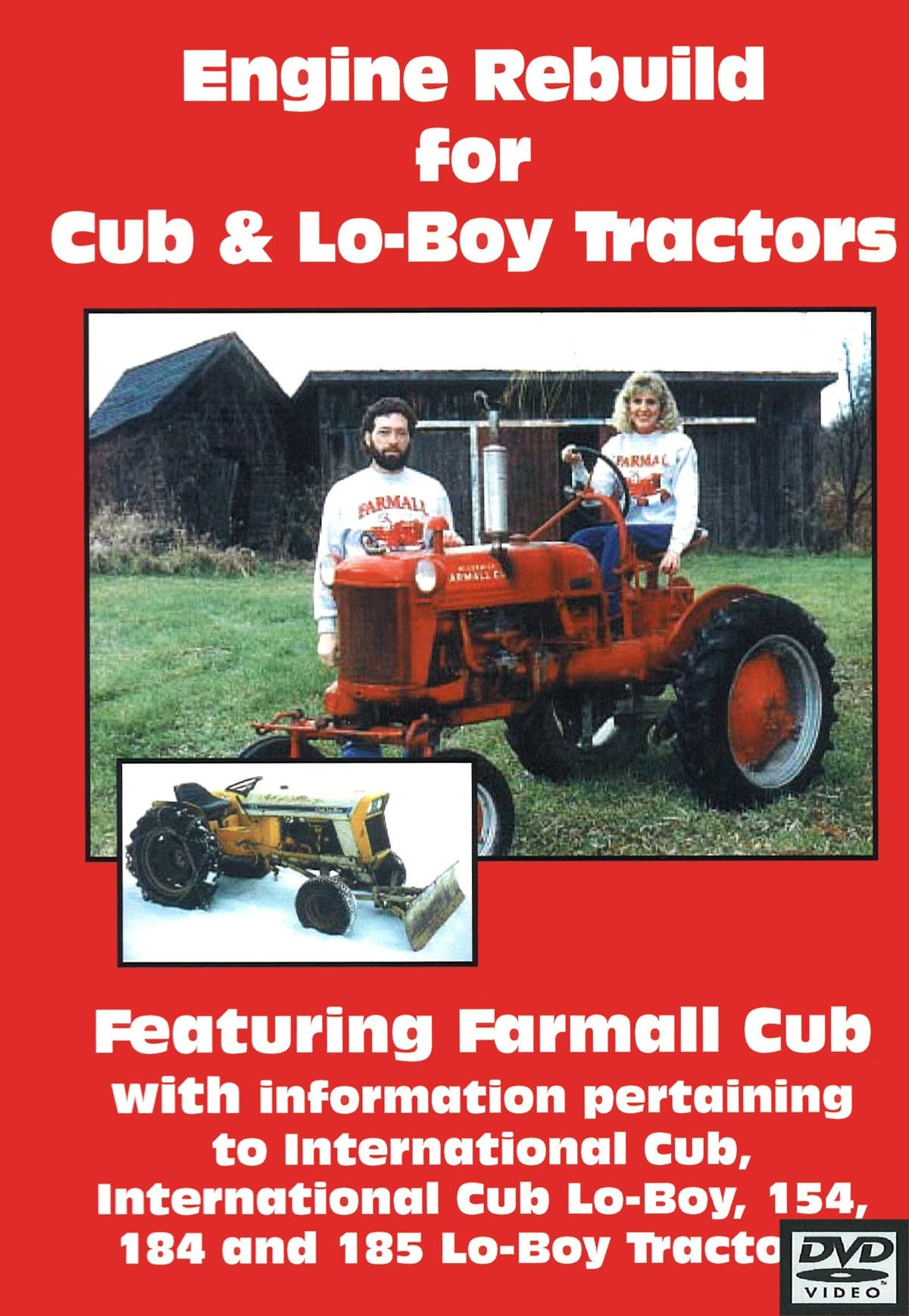 CUB & CUB LOBOY  ENGINE REBUILD VIDEO (DVD)