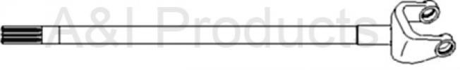 Shaft, Axle (RH) (APL351 MFWD Axle)