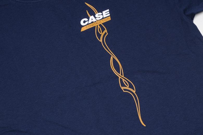 Case Construction Blue T Shirt