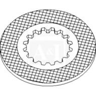 Plate, Brake Friction