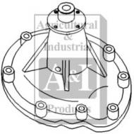 Water Pump w/ Gasket. This for those diesel tractors with the D-239. For gas tractors with the C-200 see CP 615.