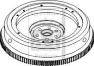 Flywheel with Ring Gear
