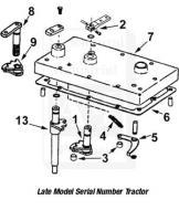 Kit: Duckfoot & Lever w/ Hardware (Ref 1 & 2)