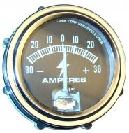 """UNIVERSAL AMMETER GAUGE (30-0-30)   TERMINAL TYPE. NON-LUMINOUS   FITS 2\"""" DIAMETER HOLE   CHROME BEZEL   MAY NOT HAVE THE SAME APPEARANCE AS ORIGINAL EQUIPMENT   International Applications: CUB, A, AV, B, BN, C, H, HV, M, MD, MV, SUPER MD, MDV, SUPER A, SUPER AV, SUPER C, SUPER H, SUPER M, SUPER MV, SUPER MDV, SUPER MTA SERIES, O4, SUPER O4, W4, SUPER W4, I4, W9, WR9, WD9, WDR9, O6, SUPER O6, ODS6, W6, SUPER W6, W6TA SERIES, WD6, I6, ID6, I9   Replacement Part #: IH 360053R91, 378424R91 & 393334R1"""