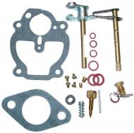 COMPLETE CARBURETOR REPAIR KIT (ZENITH)   MAKE SURE THAT YOUR CARBURETOR MANUFACTURER NUMBER IS IN THE LIST THIS FITS!!!!! KIT CONTAINS: CHOKE & THROTTLE SHAFTS, NEEDLE & SEAT VALVE, FLOAT LEVER PIN, MISCELLANEOUS PLUGS & SCREWS, THROTTLE SHAFT SEALS & GASKETS   Carburetor Manufacturer #: 10514A   International Applications: A, B, SUPER A, AV