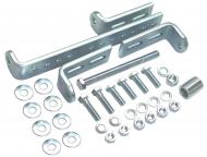 UNIVERSAL ALTERNATOR MOUNTING KIT   NOTE: DOES NOT INCLUDE THE TOP ADJUSTING BRACKET   THIS ALTERNATOR MOUNTING KIT USED WHEN SWITCHING FROM A GENERATOR TO AN ALTERNATOR   International Applications: IH MODELS