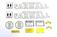 MYLAR DECAL SET  SPECIAL ORDER ONLY. ALLOW ONE ADDITIONAL WEEK FOR DELIVERY CAUTION: INSPECT ALL DECAL PIECES BEFORE APPLYING TO TRACTOR. NO REFUNDS ON MYLAR DECALS IF APPLIED TO SURFACE AND / OR IF DAMAGED. NO REFUNDS ON VINYL CUT DECALS. STORE IN A COOL, DRY PLACE. D  International Applications: IH (1945-1952) B