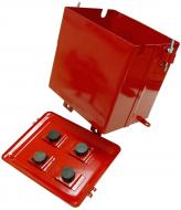 BATTERY BOX W/ IHS225LR LID & HARDWARE 