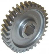 STEERING SECTOR GEAR  32 TEETH  FULL CIRCLE TYPE  International Applications: H, SUPER H, SUPER HV, 300, 350 ROW CROPS  Replacement Part #: 50038DB