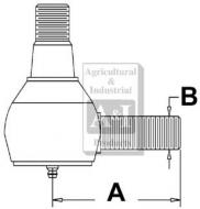 Power Steering Cyl. End