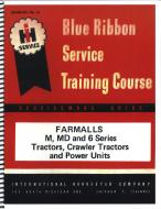 IH BLUE RIBBON SERVICE MANUAL  A SERVICE MANUAL REPRINT TELLS YOU HOW TO TAKE THE TRACTOR APART, HOW TO FIX IT AND HOW TO PUT IT BACK TOGETHER AGAIN, IT IS A REPRINT OF THE MANUAL THAT THE FACTORY FURNISHED THE DEALERS SHOP SERVICE DEPARTMENT AND WAS NOT SENT OR GIVEN TO INDIVIDUAL RET  International Applications: M, MD & 6 SERIES, TRACTORS, CRAWLER TRACTORS & POWER UNITS