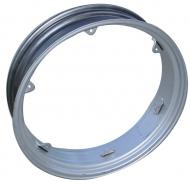 """REAR RIM 9"""" X 36""""   6 CLAMPS   9"""" X 36""""   USA MADE   NOTE: CLAMPS ARE WELDED TO RIM   International Applications: FARMALL C, SUPER C, 200, 230, 240, 404 -- SERVICEABLE FOR AV, SUPER AV (ON THESE APPLICATIONS, IT WILL BOLT ON, BUT THE CLAMPS ON OUR RIM ARE MORE CENTERED THAN THE ORIGINAL, THE ORIGINAL RIM CLAMPS AT THE OUTER EDGE)   Replacement Part #: 352806R91  Please check and measure your tractor closely because if this rim does not fit, we do not pay return shipping on rims."""