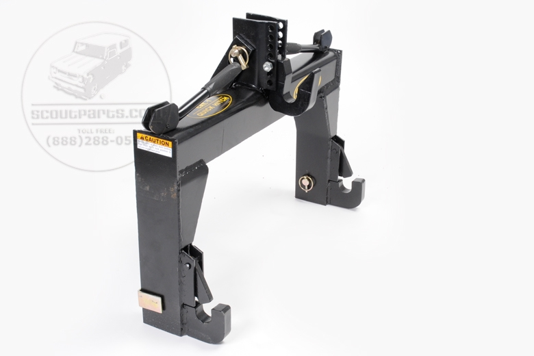 3 Point Quick Hitch Adapter - Catagory 1