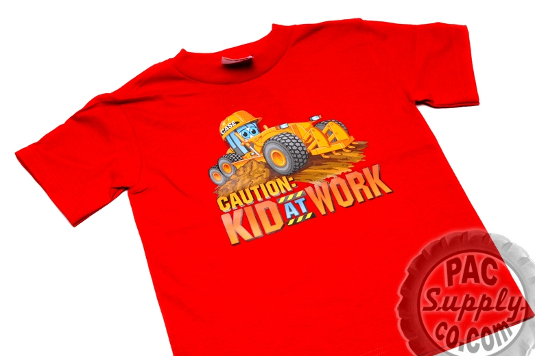 Caution: Kid at Work T-Shirt