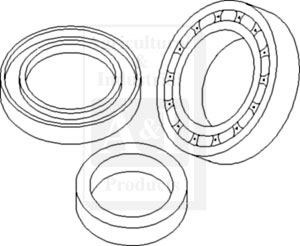 Kit, Seal & Bearing, MFD Planetary Axle Yoke Assy.