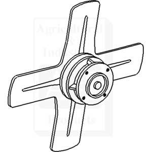 Fan, 4 Blade