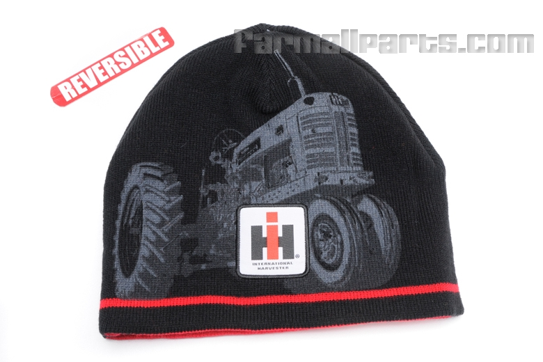Stocking Hat -  Reversible With IH Tractor