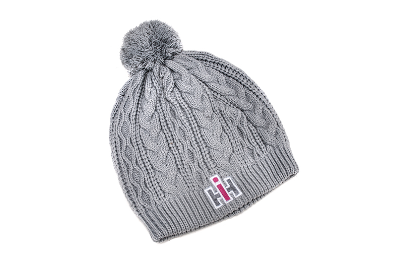 IH Womens Gray Knit hat