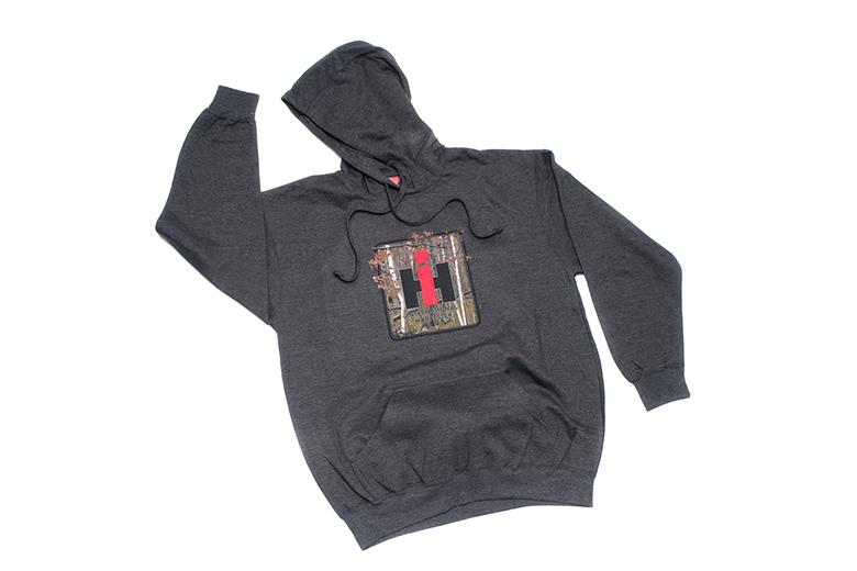 IH Logo Camo Pullover Hoodie Sweatshirt