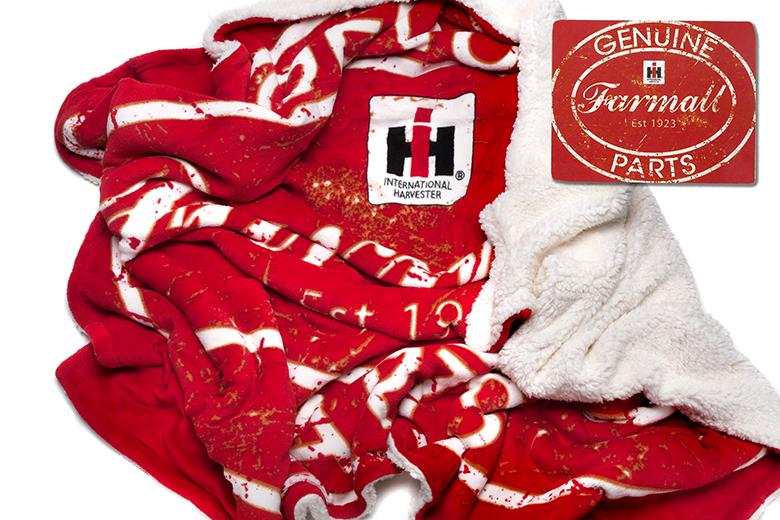 Genuine Farmall Parts Sherpa Blanket