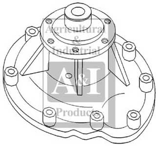 Water Pump W/ Gasket