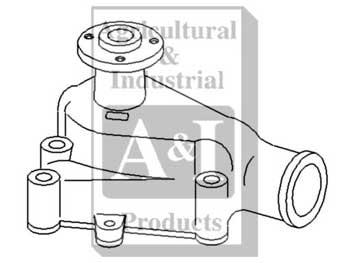Re-Mfg. Water Pump (R&R Only)